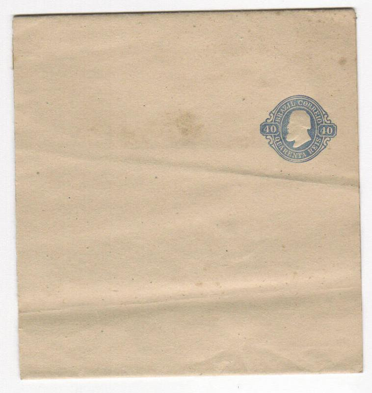 Brazil 40r Postal Stationary Unused (old)