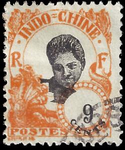 Indochina 1922 YT 108 u vg-f