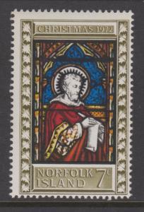 Norfolk Island 1972 Christmas & All Saints Church Sc#150-151 MLH