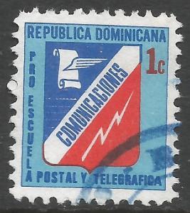 DOMINICAN REPUBLIC RA91a VFU L793-1
