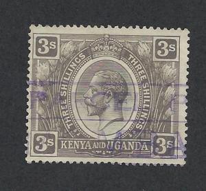 KENYA, UGANDA, & TANZANIA SC# 32 F-VF U 1922