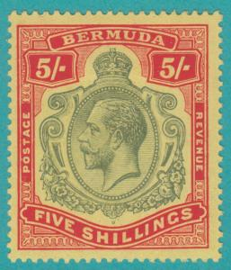BERMUDA 52  MINT HINGED OG *  NO FAULTS EXTRA FINE !