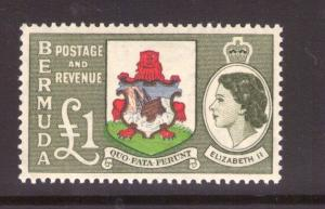 Bermuda SG150 QEII 1953 Superbe MNH État