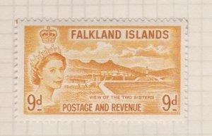 Falkland Islands Sc#126 MH