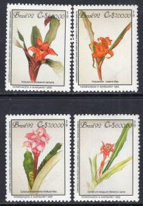 Brazil 2374-2377 Flowers MNH VF