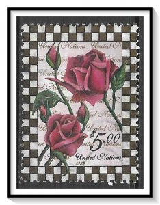 UN New York #753 Roses Used