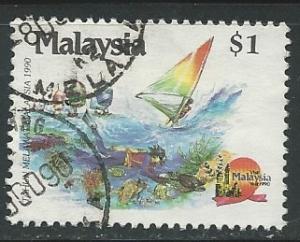 Malaysia    Scott # 415 - Used