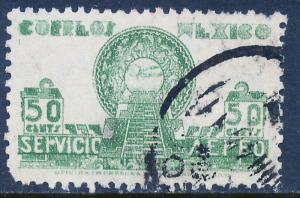 MEXICO C138, 50c 1934 Definitive. Allegory. Used. (802)