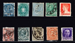 ITALY STAMP USED STAMPS COLLECTION LOT #W1