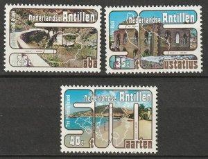 Netherlands Antilles 1977 Sc 404-6 set MNH