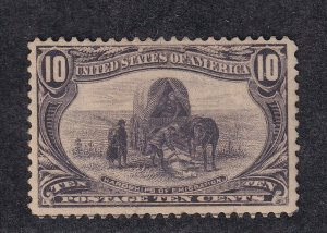290 VF+ original gum mint never hinged nice color cv $ 425 ! see pic !