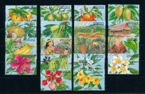 [101641] Micronesia 1989 Flora flowers fruits bananas orange  MNH
