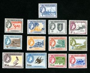 Virgin Islands Stamps # 115-27 VF OG H Catalog Value $99.00