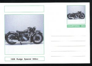 A postcard 1938 Rudge Special   Mint  PD