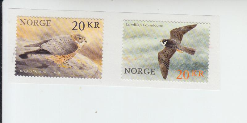 2016 Norway Birds SA Coil Pr (Scott NA) MNH