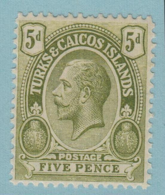 TURKS AND CAICOS 31 MINT HINGED OG * NO FAULTS EXTRA FINE !