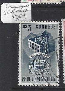 VENEZUELA  (PP0401B)  ARMS  SC 568    VFU