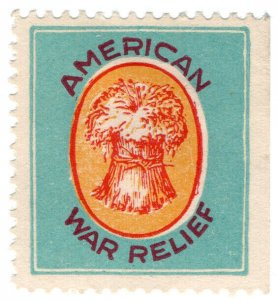 (I.B) US (Great War) Cinderella : American War Relief