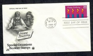 2395 Special Occasions Unaddressed ArtCraft FDC