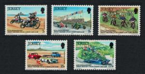 Jersey Motorcycles 5v SG#233-237