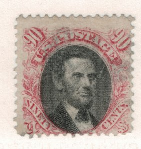 United States Stamp Scott #122, Used - Free U.S. Shipping, Free Worldwide Shi...