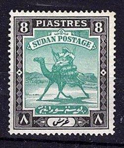 Sudan 1927-41 Arab Postman 8Pi