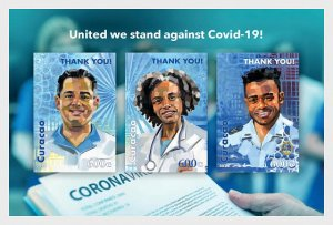 Stamps Curacao 2020. - COVID-19 - Miniature Sheet