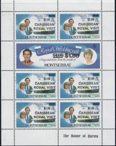 Montserrat #578-579 (MNH) Royal Wedding  CV $45.00