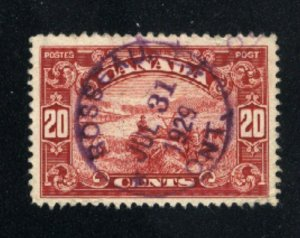 Canada #157   used   VF  PD
