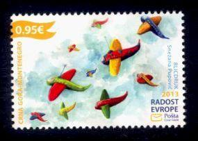 Montenegro Sc# 350 MNH Joy of Europe 2013