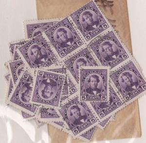 Canada - 1927 Darcy McGee X 100 used #146