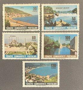Turkey 1965 Tourism Postage Stamps COMPLETE SET SG #2087/2089