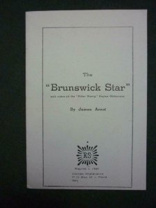 THE 'BRUNSWICK STAR' - REPRINT by JAMES ARNOT