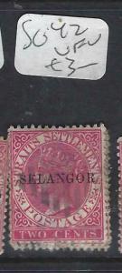 MALAYA SELANGOR (P0702B)  QV  2C   SG 42   VFU
