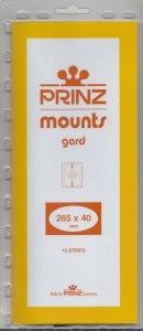 PRINZ 265X40 (10) CLEAR MOUNTS RETAIL PRICE $9.50