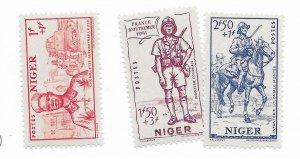 Niger #B11-B13 MNH - Stamp - CAT VALUE $4.10
