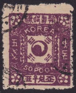 KOREA An old forgery of a classic stamp.....................................2363