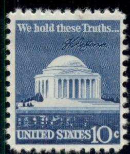 #1510 10¢ JEFFERSON MEMORIAL LOT OF 400 MINT STAMPS, SPICE UP YOUR MAILINGS!
