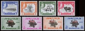Pakistan-Bahawalpur Scott 22-25, 26-29 (1949) Mint H VF Complete Sets Y