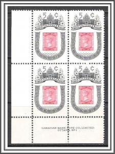 Canada #399i Victoria Centenary Plate Block Pl 1-1 MNH