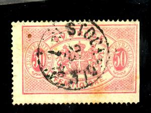 Sweden #O10 Used F-VF Sm Faults Cat $125