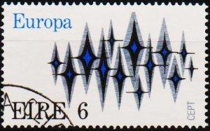 Ireland. 1972 6p S.G.314 Fine Used