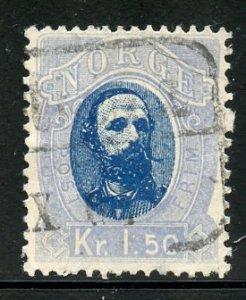 Norway # 33, Used. CV $ 50.00
