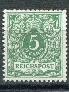 German States Mi #46a  Unused  F-VF  - Lakeshore Philatelics