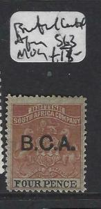 BRITISH CENTRAL AFRICA  (P0403B)  ARMS  4D  SG 13  MOG