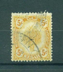 Malaya - Kedah sc# 30 used cat value $.25