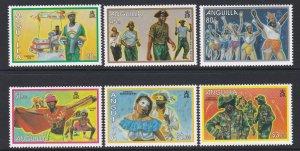 887-92 Anguilla Carnival MNH