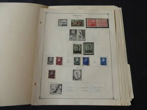 Romania 1949-1955 Stamp Collection many on Scott Intl Album Pages