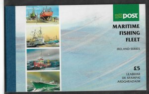 Ireland 1991,Maritime Fishing Fleet Booklet,Sc # 844-47a,845ab,844-45b,847a,VF!