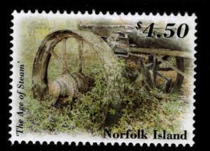 Norfolk Island Scott 763 Age of Steam MNH** stamp CV $9